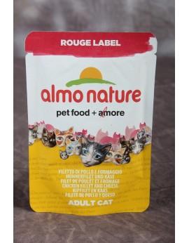 Almo Nature Label Rouge Filet de poulet et fromage 50 grs