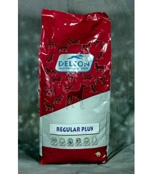 Croquettes pour chien actif au poulet - DELCON REGULAR PLUS 15Kg