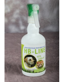 Antiparisitaire spray hb line 500 ml