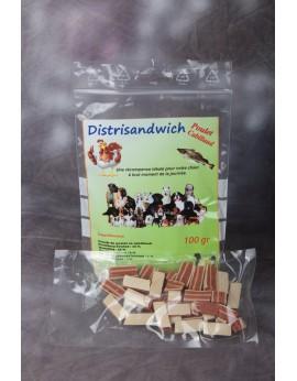Distrisandwich poulet cabillaud 100gr