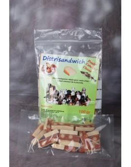 Distrisandwich poulet cabillaud et fromage 100gr