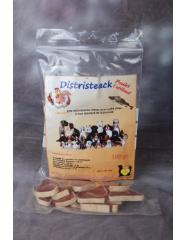 Distristeack poulet cabillaud 100gr
