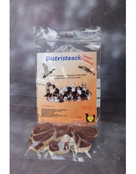 Distristeack canard cabillaud 100 gr