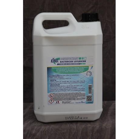 King Désinfectant Bactéricide Levuricide 5 L