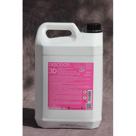 Desodor 3D Détergent Surodorant Désinfectant Tutti Frutti 5 Litres