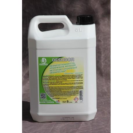 Desodor nettoyant hygiénique desinfectant concentré 5 Litres